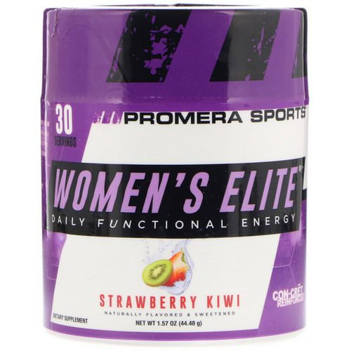 Promera Sports, Women's Elite, Daily Functional Energy, Strawberry Kiwi, 1.57 oz (44.48 g) Review