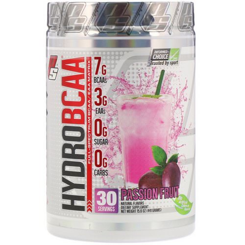 ProSupps, Hydro BCAA, Passion Fruit, 15.6 oz (441 g) Review