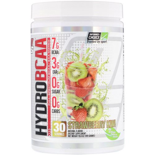 ProSupps, Hydro BCAA, Strawberry Kiwi, 15.6 oz (441 g) Review