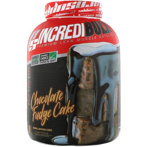 ProSupps, Incredibulk, Chocolate Fudge Cake, 6.0 lb (2722 g) Review
