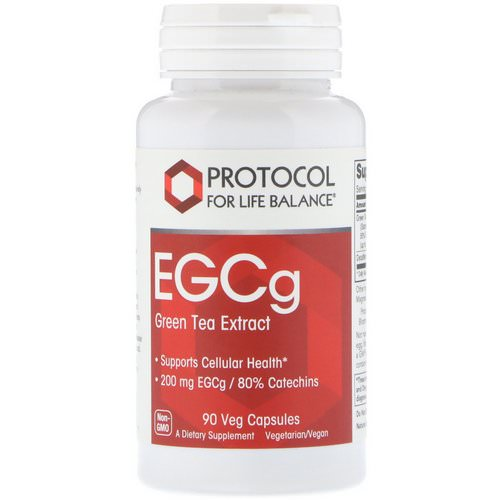 Protocol for Life Balance, EGCg Green Tea Extract, 90 Veg Capsules Review