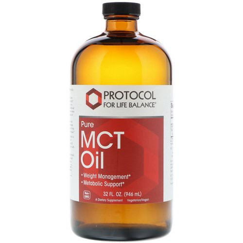 Protocol for Life Balance, Pure MCT Oil, 32 fl oz (946 ml) Review