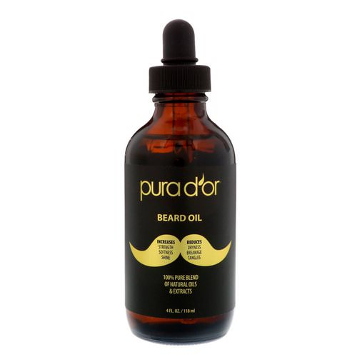 Pura D'or, Beard Oil, 4 fl oz (118 ml) Review