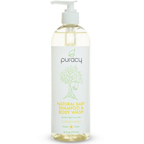 Puracy, Natural Baby Shampoo & Body Wash, Citrus Grove, 16 fl oz (473 ml) Review