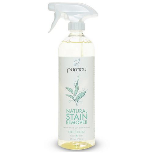 Puracy, Natural Stain Remover, Free & Clear, 25 fl oz (739 ml) Review