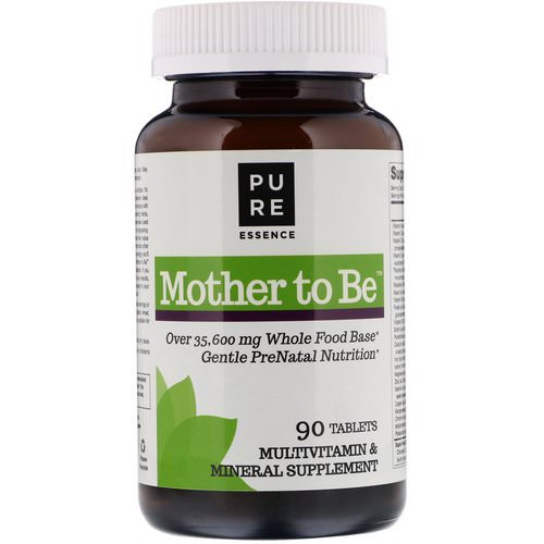 Pure Essence, Mother To Be, Multivitamin & Mineral, 90 Tablets Review