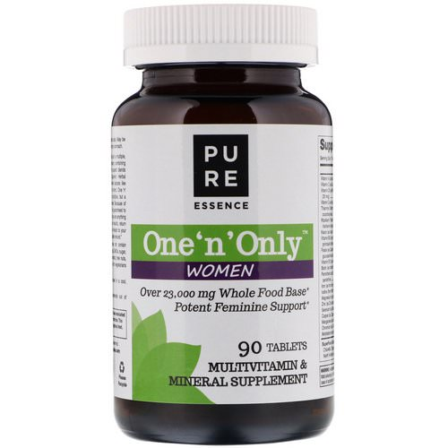 Pure Essence, One 'n' Only Women, Multivitamin & Mineral, 90 Tablets Review