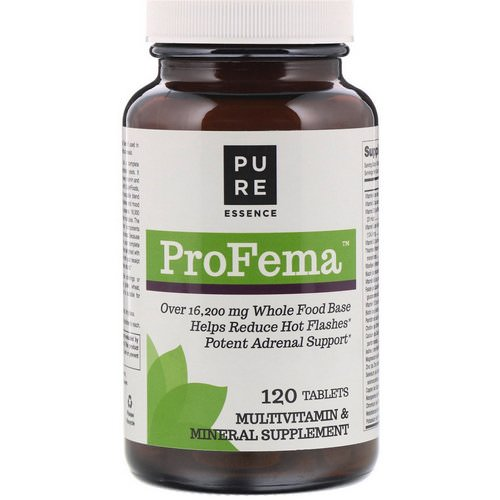 Pure Essence, ProFema, 120 Tablets Review