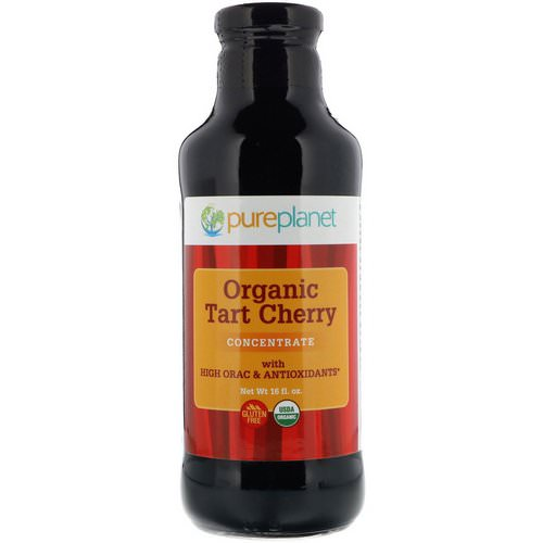 Pure Planet, Organic Tart Cherry, Concentrate, 16 fl oz Review