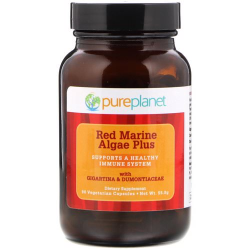 Pure Planet, Red Marine Algae Plus, 90 Vegetarian Capsules Review