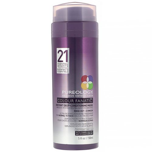 Pureology, Colour Fanatic Instant Deep Conditioning Mask, 5 fl oz (150 ml) Review