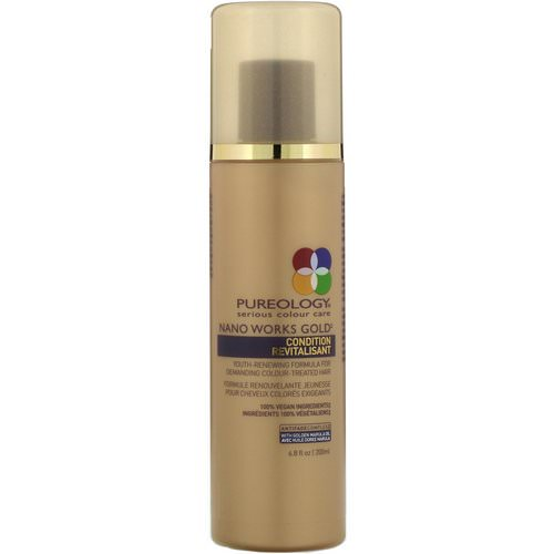 Pureology, Nano Works Gold Conditioner, 6.8 fl oz (200 ml) Review