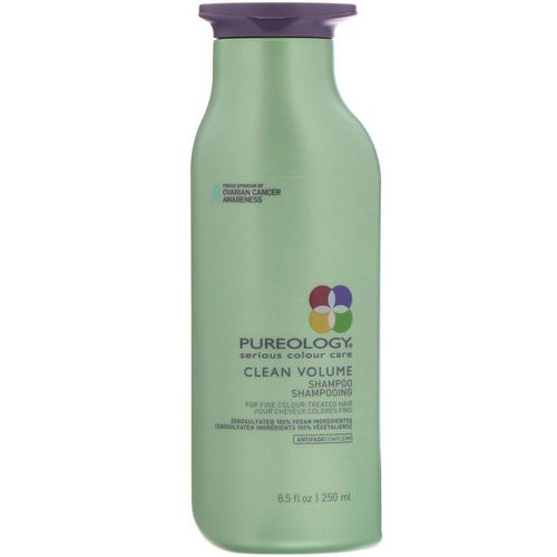Pureology, Serious Colour Care, Clean Volume Shampoo, 8.5 fl oz (250 ml) Review