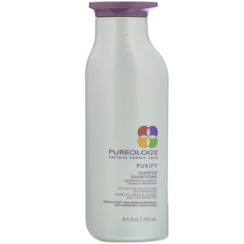 Pureology, Serious Colour Care, Purify Shampoo, 8.5 fl oz (250 ml) Review