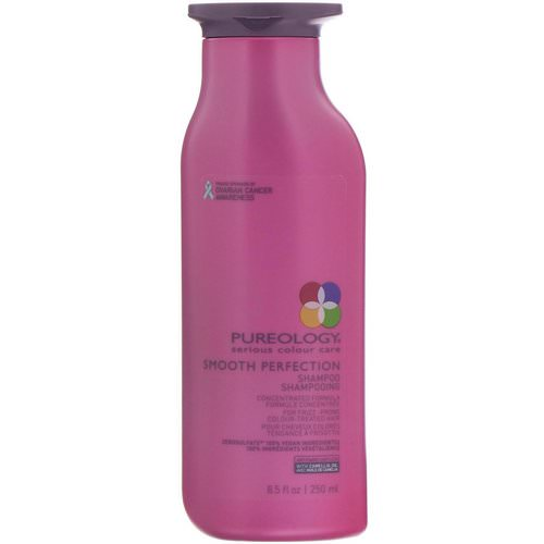 Pureology, Serious Colour Care, Smooth Perfection Shampoo, 8.5 fl oz (250 ml) Review