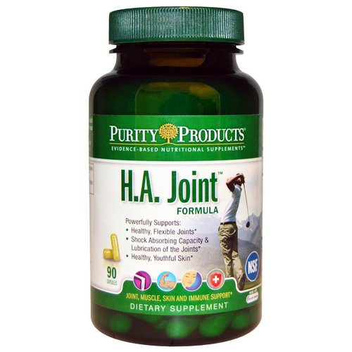 Purity Products, H.A. Joint Formula, 90 Capsules Review
