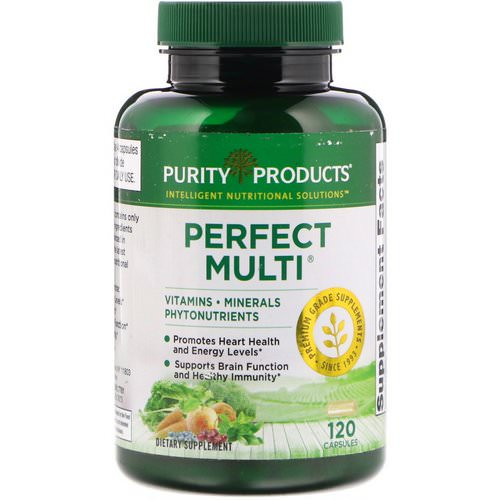Purity Products, Perfect Multi, 120 Capsules Review