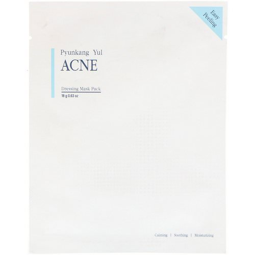Pyunkang Yul, ACNE, Dressing Mask Pack, 1 Mask, 0.63 oz (18 g) Review