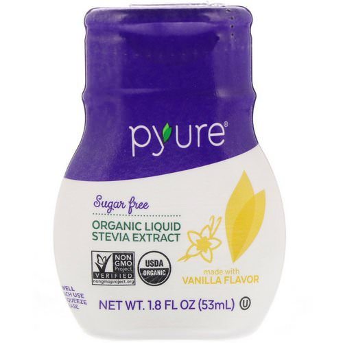 Pyure, Organic Liquid Stevia Extract, Vanilla, 1.8 fl oz (53 ml) Review