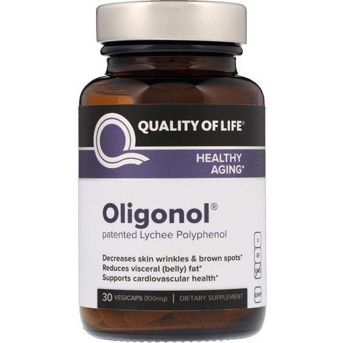 Quality of Life Labs, Oligonol, 100 mg, 30 VegiCaps Review