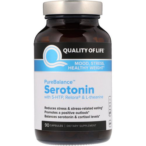 Quality of Life Labs, PureBalance, Serotonin, 90 Capsules Review