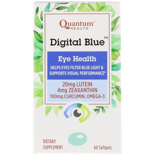 Quantum Health, Digital Blue, Eye Health, 60 Softgels Review