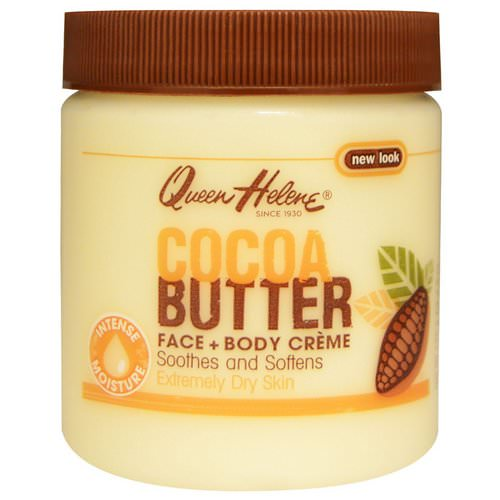 Queen Helene, Cocoa Butter Face + Body Creme, 4.8 oz (136 g) Review