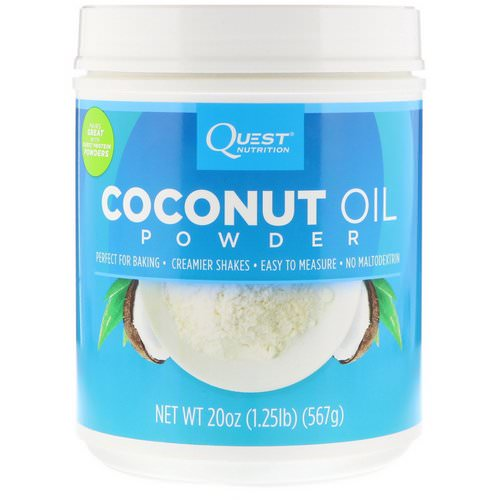 Quest Nutrition, Coconut Oil Powder, 1.25 lbs (567 g) Review