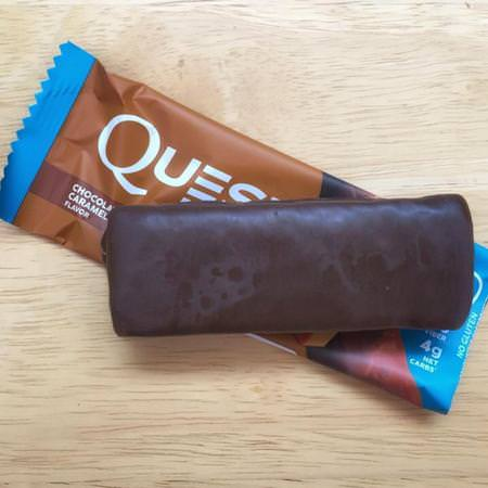 Quest Nutrition, Hero Protein Bar, Chocolate Caramel Pecan, 10 Bars, 2.12 oz (60 g) Each Review