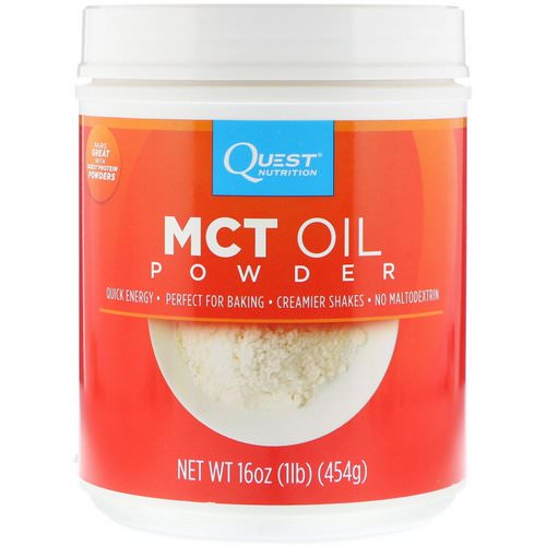 Quest Nutrition, MCT Oil Powder, 16 oz (454 g) Review