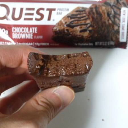 Quest Nutrition, Protein Bar, Chocolate Brownie, 12 Bars, 2.12 oz (60 g) Each Review