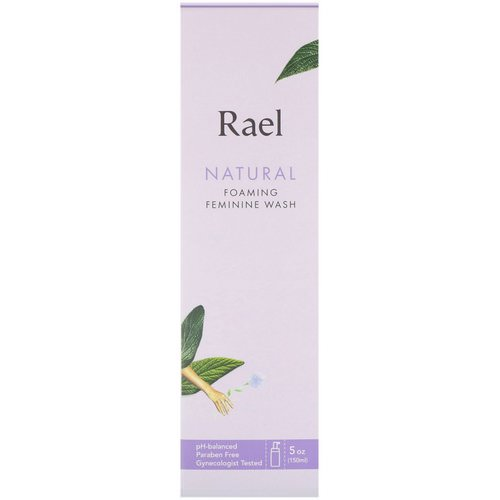 Rael, Natural Foaming Feminine Wash, 5 oz (150 ml) Review