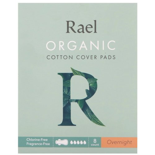Rael, Organic Cotton Cover Pads, Overnight, 8 Count Review