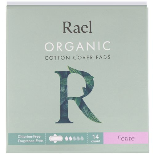 Rael, Organic Cotton Cover Pads, Petite, 14 Count Review