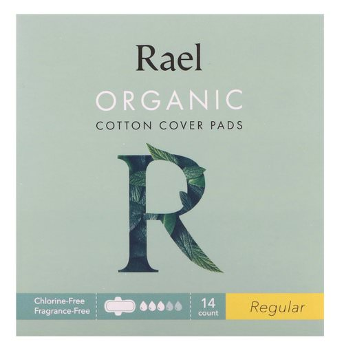 Rael, Organic Cotton Cover Pads, Regular, 14 Count Review