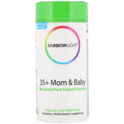 Rainbow Light, 35+ Mom & Baby, 60 Tablets Review