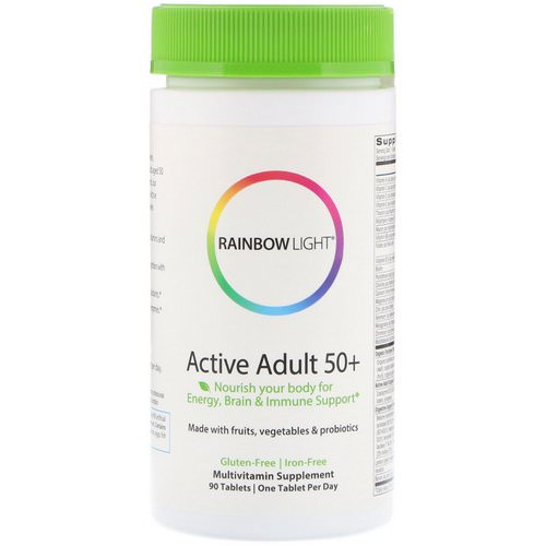 Rainbow Light, Active Adult 50+, 90 Tablets Review