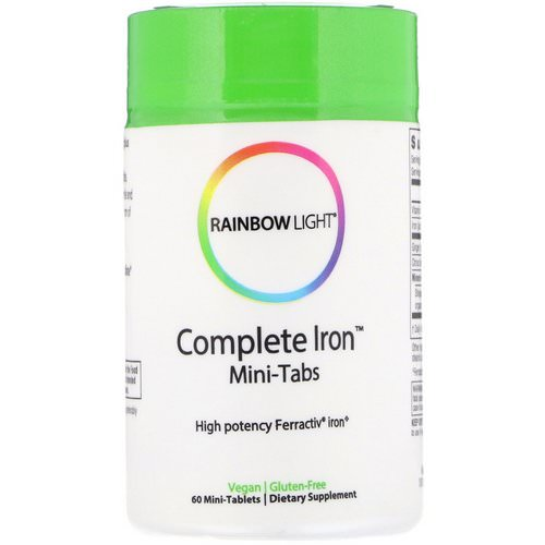 Rainbow Light, Complete Iron, Mini-Tabs, 60 Mini Tablets Review