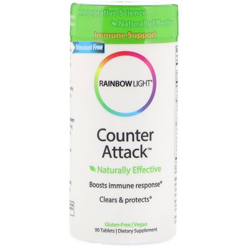 Rainbow Light, Counter Attack, Immune Support, 90 Tablets Review