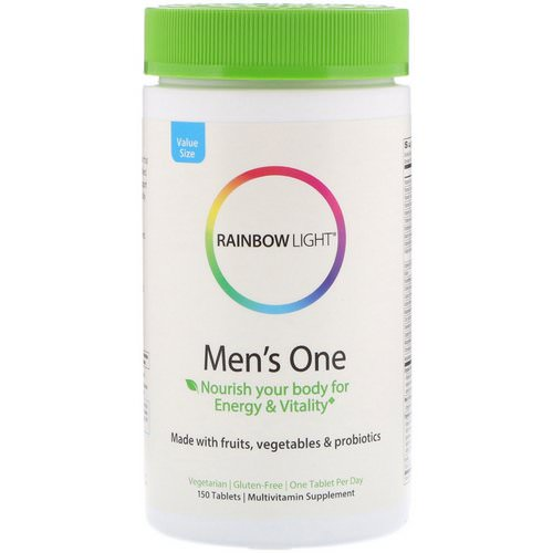 Rainbow Light, Men's One, 150 Tablets Review