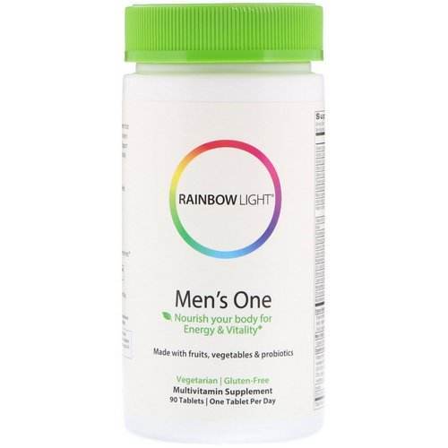 Rainbow Light, Men's One, 90 Tablets Review