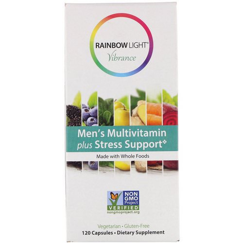 Rainbow Light, Vibrance, Men's Multivitamin Plus Stress Support, 120 Capsules Review