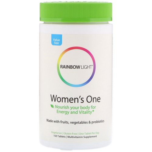 Rainbow Light, Women's One, 150 Tablets Review