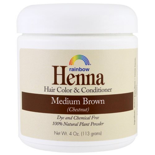 Rainbow Research, Henna, Hair Color and Conditioner, Medium Brown (Chestnut), 4 oz (113 g) Review
