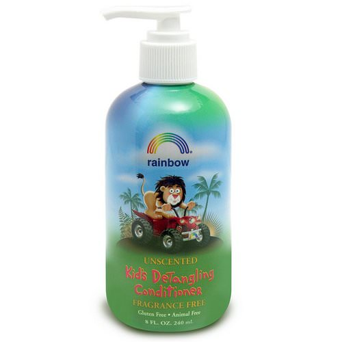 Rainbow Research, Kid's Detangling Conditioner, Fragrance Free, 8 fl oz, (240 ml) Review