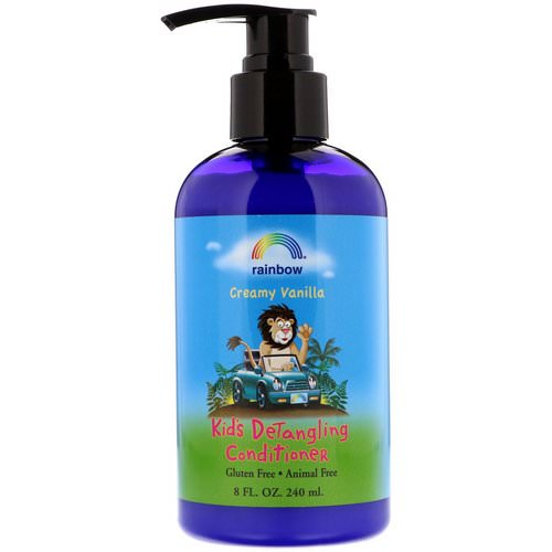 Rainbow Research, Kids Detangling Conditioner, Creamy Vanilla, 8 fl oz (240 ml) Review