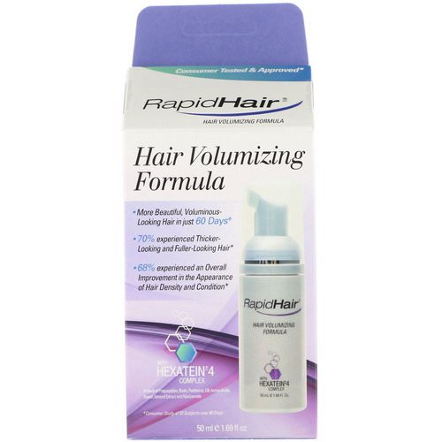 RapidLash, Hair Volumizing Formula, 1.69 fl oz (50 ml) Review