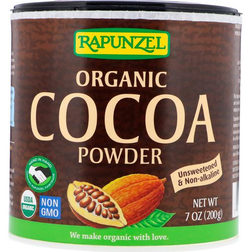 Rapunzel, Organic Cocoa Powder, 7.1 oz (201 g) Review