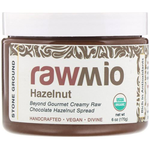 Rawmio, Chocolate Hazelnut Spread, 6 oz (170 g) Review