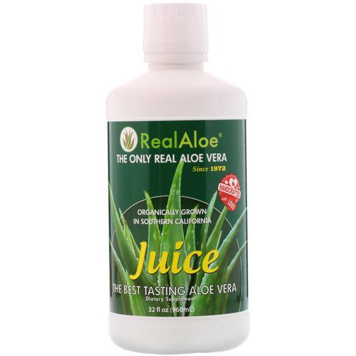 Real Aloe, Aloe Vera Juice, 32 fl oz (960 ml) Review